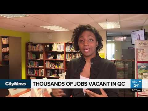 Thousands Of Jobs Vacant In Montreal
