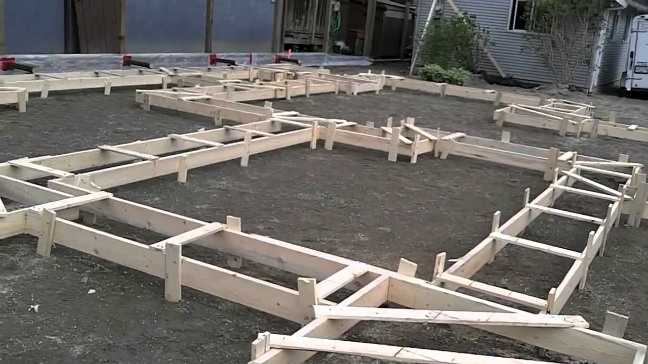 2011 05 5 building a foundation for a new house youtube Step by step to build a house