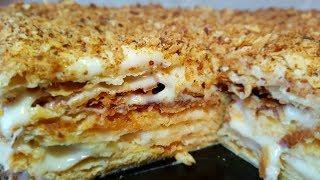 Наполеон торт. Наполеон классический, цыганка готовит. Gipsy cuisine.