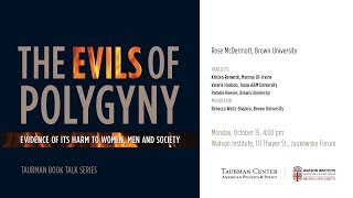 Baixar Rose McDermott – The Evils of Polygyny: Evidence of Its Harm to Women, Men and Society