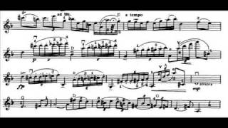 Paganini, Niccolo 4th violinc. mvt1(begin) Allegro maestoso
