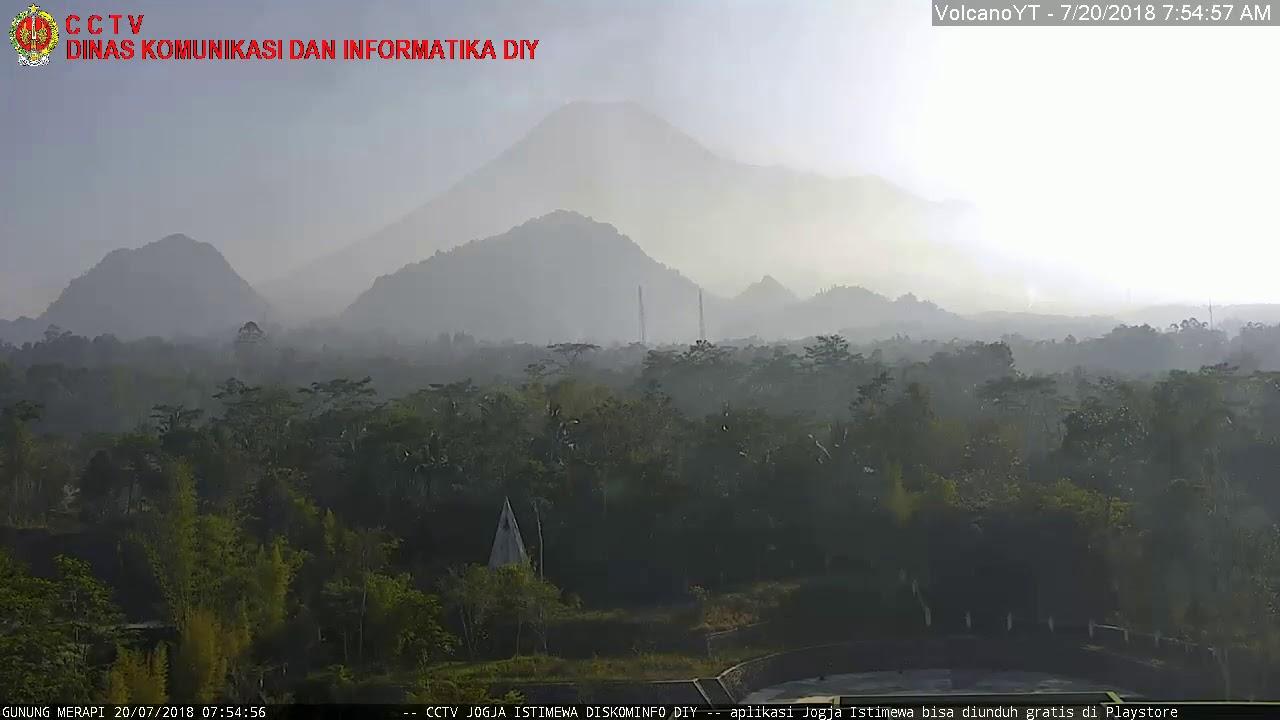 20/7/2018 WITA - Mt Merapi TimeLapse C1