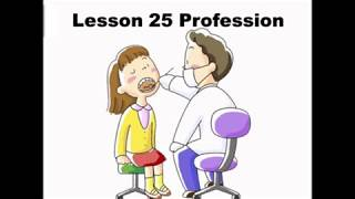 Learn Mandarin Chinese Online Free Lesson 25 Profession