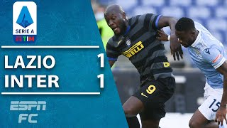 Tensions flare as lazio and inter milan finish with 10 men in a battle at the stadio olimpico. lautaro martinez's strike first half put visitors i...