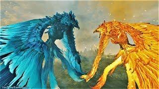 Flame Phoenix vs Frost Phoenix Total War Warhammer 2