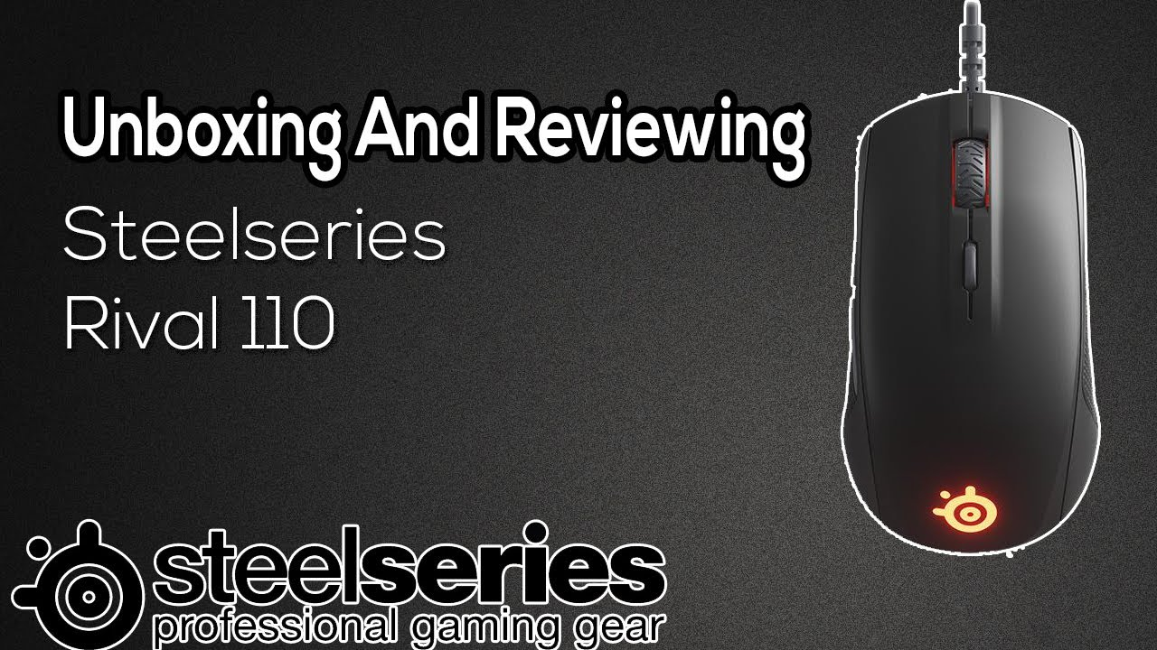 Best Budget Gaming Mouse SteelSeries Rival 110 Review