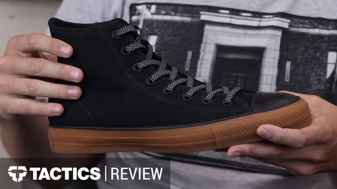 fde9d7554632 Converse CONS Chuck Taylor All Star Pro High Shield Skate Shoes Review -  Tactics.com