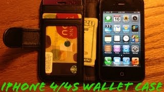 iPhone 4/4S Wallet Case Review