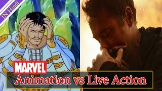 Animation vs live Action Movies Trailers Avengers Infinity War