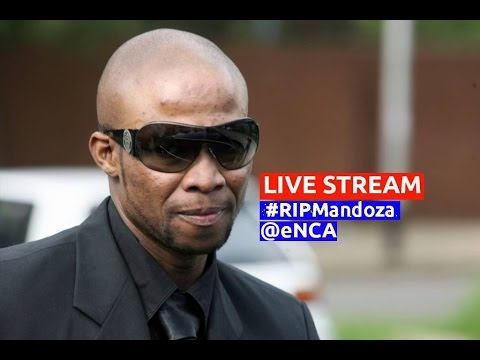 Memorial service for Mandoza
