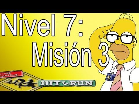 Los Simpsons Hit And Run: Nivel 7-Misión 3,Protector De Bolsillo  (Español).