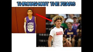 LaMelo Ball Throughout The Years Ages 12-15