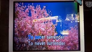 Never Surrender - Corey Hart Karaoke