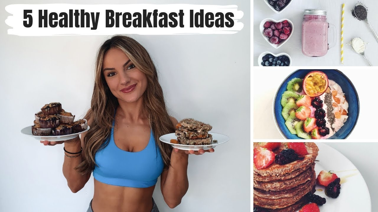 5 HEALTHY & QUICK BREAKFAST IDEAS