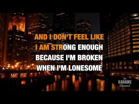 Broken (Duet) in the style of Seether | Karaoke with Lyrics
