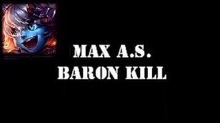 Tristana - 2.5 Max Attack Speed & Baron Solo