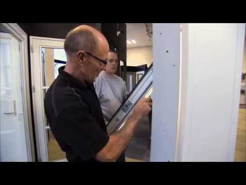 How to seperate sash from frame on Rationel AURAPLUS topswing window