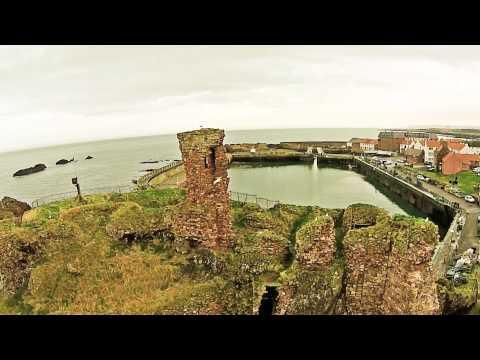 Dunbar Castle & Victoria Harbour, East Lothian