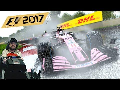 Захватывающее зрелище на Гран-При Канады🔥 F1 2017