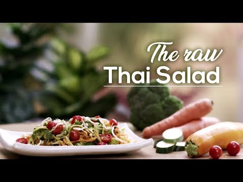 Organic Living: Raw Thai Salad for Healthy Hair and Skin | Art of Living