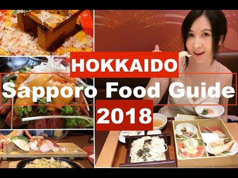 【Hokkaido Travel】Sapporo Food Guide 2018