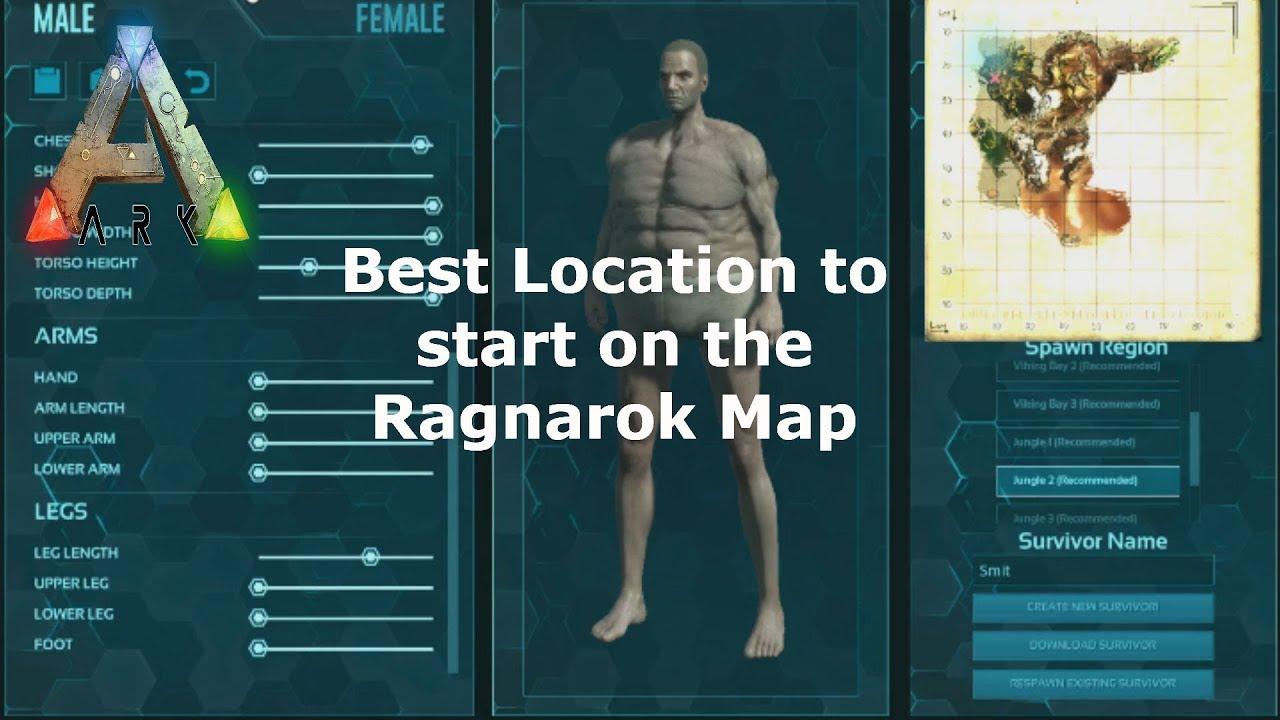Elegant Best Place To Start Ragnarok Map   Ark Survival Evolved PC | XBOX | PS 4