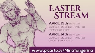 Mina Tangerina Easter Drawing Stream!