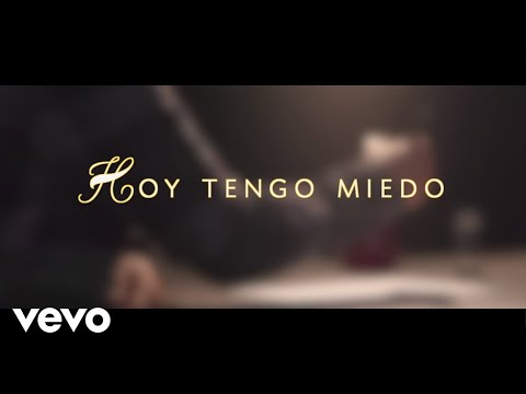 Joan Sebastian - Hoy Tengo Miedo (Lyric Video)