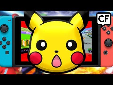 CF57: Pokemon Switch 1 or 2 Versions?, Smash Bros GOTY?, Virtual Console