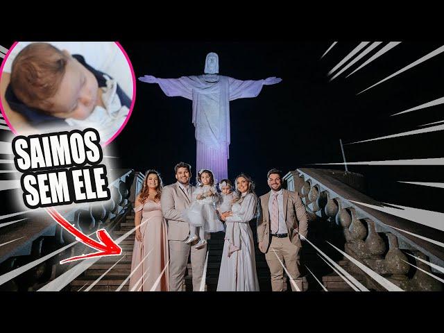 SAÍMOS SEM O ZYON PELA 1ª VEZ * Casamento no Cristo Redentor   Kathy Castricini