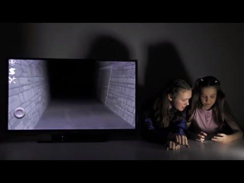 Страшная игра EYES ВАРЯ и ЛЕРА Обзор приложения Видео для детей