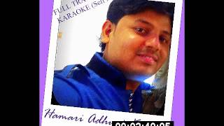 Hamari Adhuri Kahani (Title Track) Arijit Singh Complete on Karaoke | Cover | Ankit Shukla