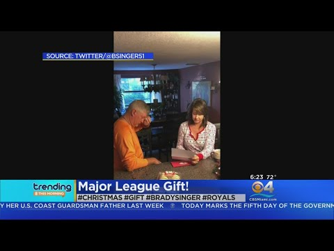 Rachel Lutzker - MLB Player Pays Off Parents Debt for Christmas