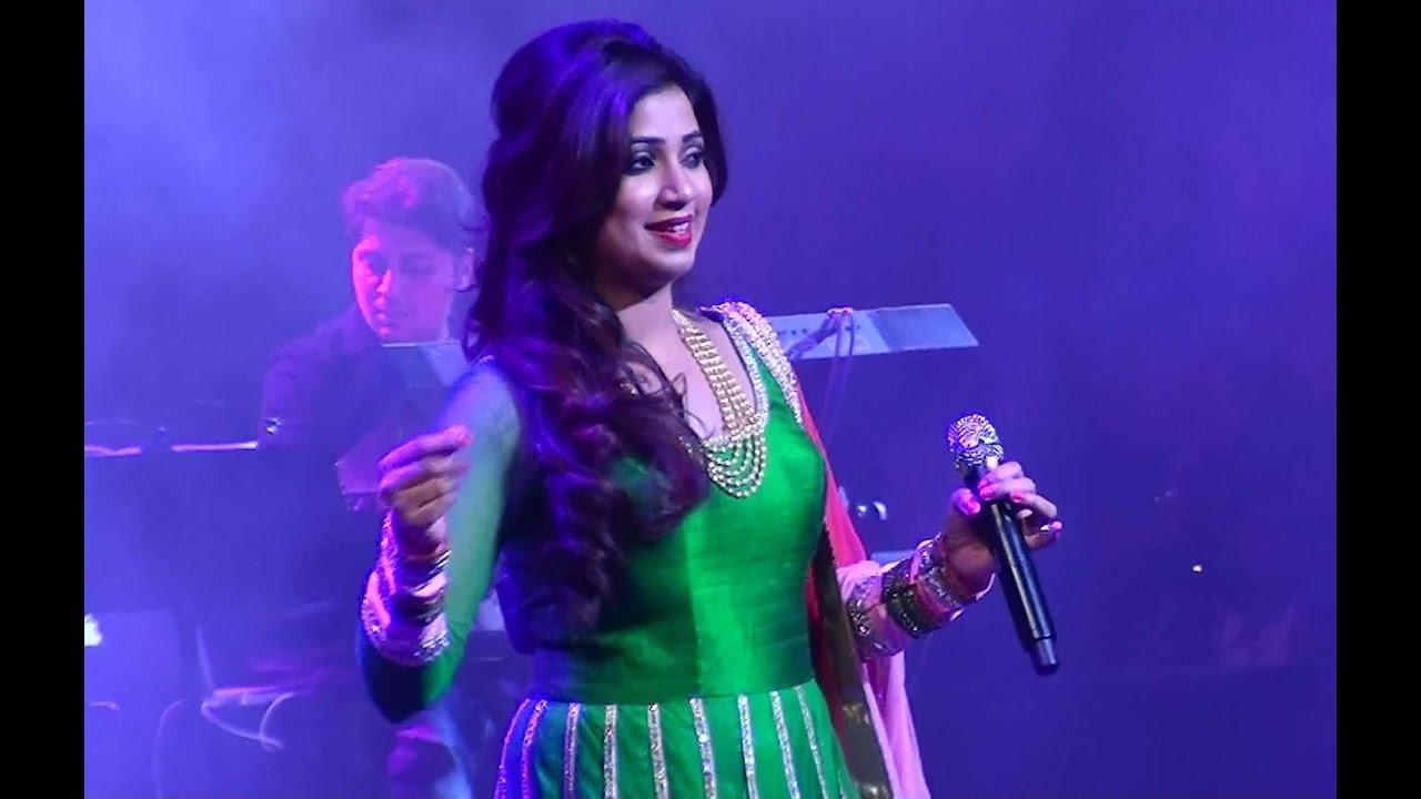 Shreya ghoshal hot stage show hd /travel diaries youtube.