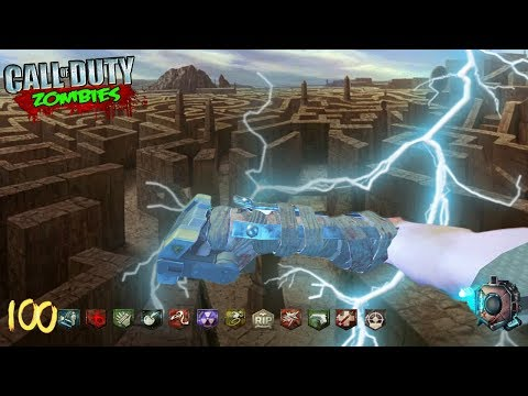 *NEW* ZOMBIE TOWER MAZE DEFENSE *HARD* (Black Ops 3 Zombies)