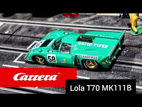 Carrera Digital 1/24 Lola T70 MK111B review with motor swap
