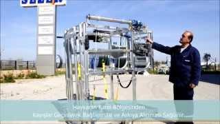 Sezer Hidrolik Hayvan Bakım Aracı (Travay) Kullanım Videosu I Cage de Parage Pour Vaches Laitières