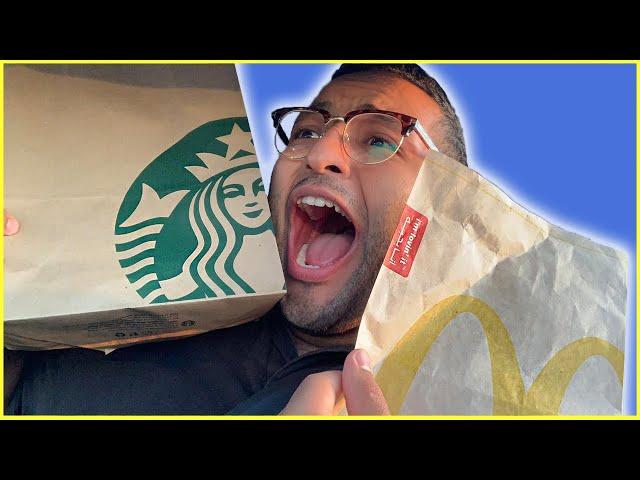 تحدي العربيه اللي قدامي يحدد اكلي    THE PERSON IN FRONT OF ME DECIDES WHAT I EAT