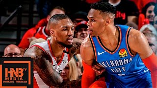Oklahoma City Thunder vs Portland Trail Blazers - Game 1 - Full Game Highlights | 2019 NBA Playoffs