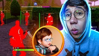 Picked up an enrollee using hack at Fortnite!?