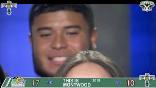 FOOTBALL FEVER KFOX 14 MONTWOOD RAMS CHEERLEADER AND FOOTBALL PLAYERS 2018