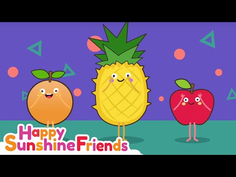 Fruits Song | Happy Fruits Learning Song