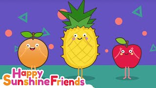 Fruits Song   Happy Fruits Learning Song