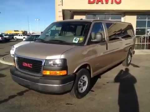 New 2017 Penger Van 15 Seat Gmc 3500 Savana Davis Buick You