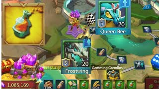 Spend 540 K Gems For Tycoon..Hunting Fam Pact 5 & Queen Venom..Got Jackpot ?? Part 1 ..Lord Mobile