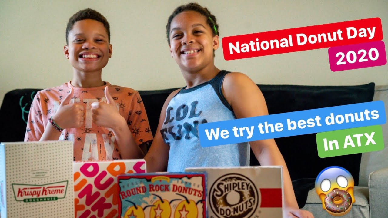Celebrating National Donut Day 2020