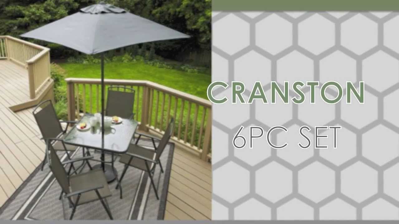 walmart canada cranston square dining table - Walmart Patio