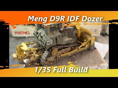 Meng IDF D9R Bulldozer 135 Full Build