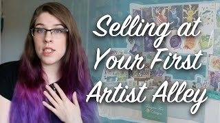 5 Tips for Selling at Your First Artist Alley