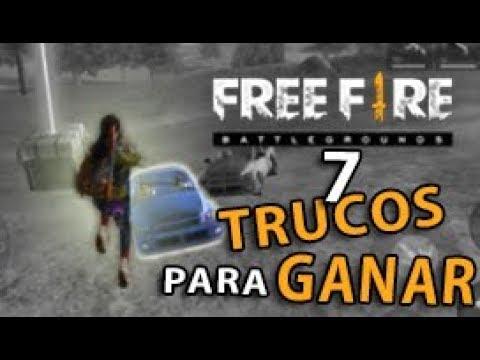 ¡7 TRUCOS Y CONSEJOS PARA MEJORAR Y GANAR PARTIDAS EN FREE FIRE | COMO SER PRO EN FREE FIRE